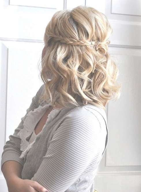 Shoulder Length Hair Prom Hairstyles – Prom Hair Styles For Medium With Most Recently Medium Haircuts For Prom (View 19 of 25)