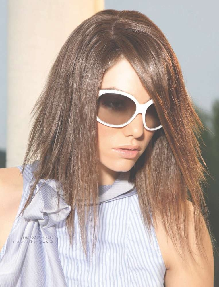 Shoulder Length Hair, Razor Cut And Deeply Layered For A Ragged Look With Regard To Best And Newest Razor Cut Medium Hairstyles (View 15 of 25)