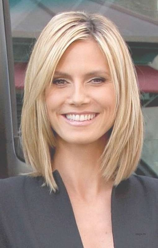 Shoulder Length Haircuts No Bangs Round Face Tags : Lovely Medium With Most Recent Medium Hairstyles Without Fringe (View 21 of 25)