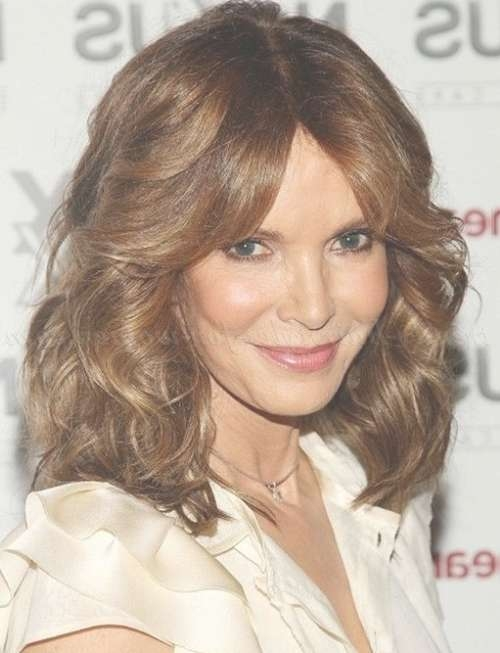 Shoulder Length Hairstyles Over 50 – Shoulder Length Hairstyle For Regarding Most Recently Medium Hairstyles For Mature Woman (View 13 of 15)