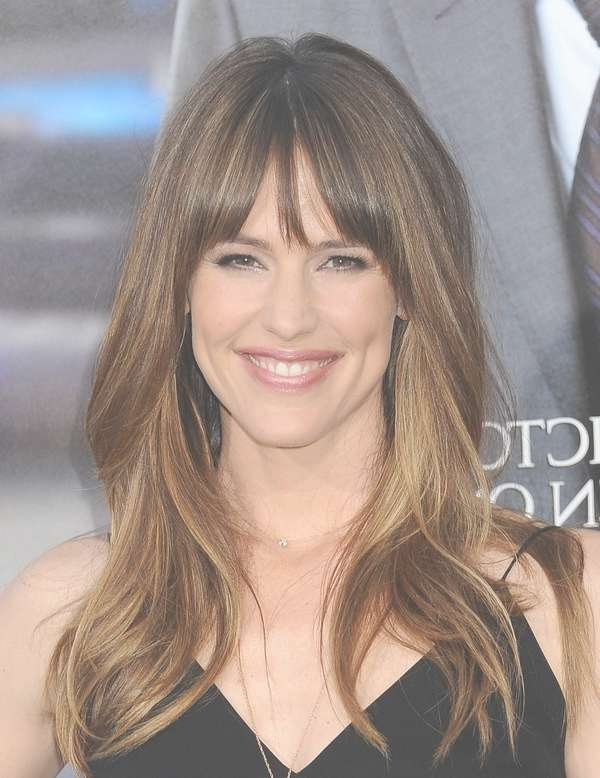 Shoulder Length Medium Hairstyles For Round Face Women 2015 Intended For Recent Medium Hairstyles With Side Bangs For Round Faces (View 12 of 25)