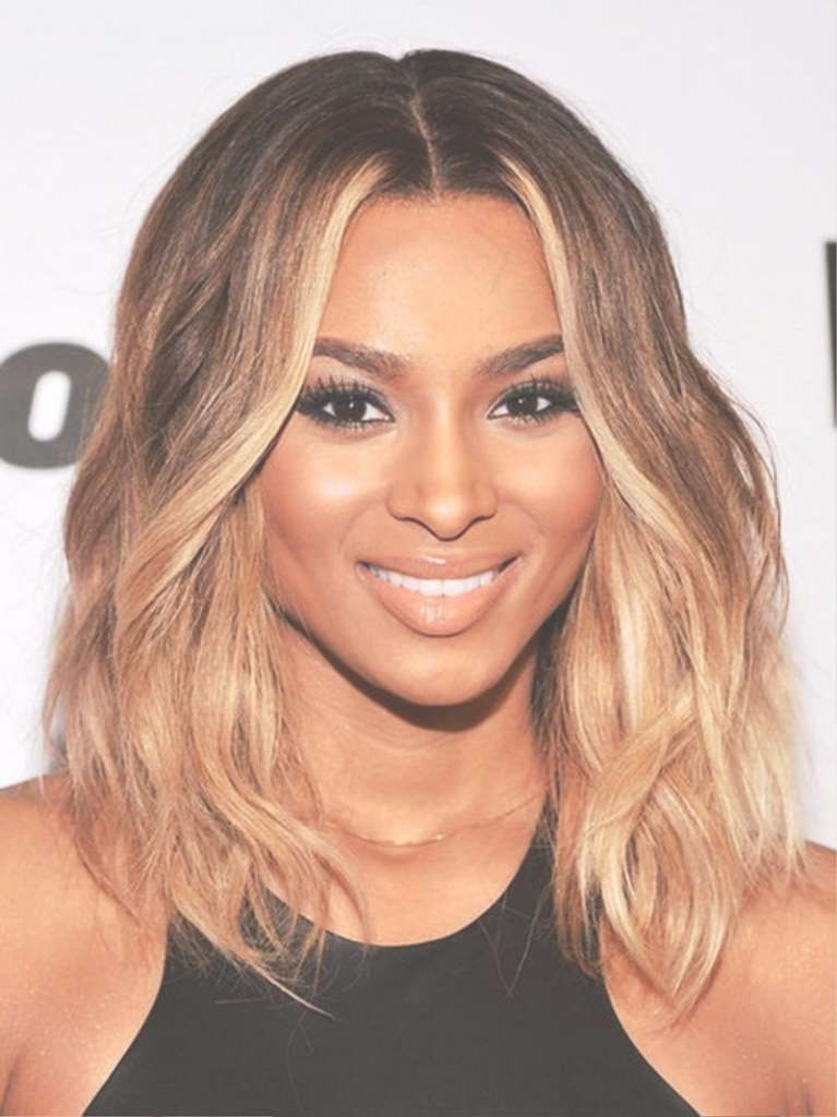 Shoulder Length Weaves For Black Women Medium Hairstyles For Thick In Recent Black Women Medium Haircuts (View 23 of 25)