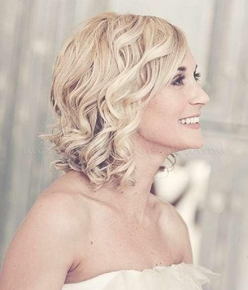 Shoulder Length Wedding Hairstyles – Medium Length Hairstyle For Throughout 2018 Brides Medium Hairstyles (View 4 of 25)