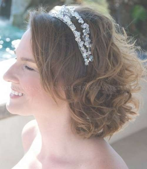 Shoulder Length Wedding Hairstyles – Wedding Hairstyle For Medium Pertaining To Current Medium Hairstyles For Brides (View 9 of 25)