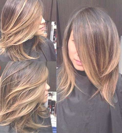 Simple Hairstyle For Medium Length Ombre Hairstyles Best Short To Throughout Most Popular Ombre Medium Hairstyles (View 14 of 25)