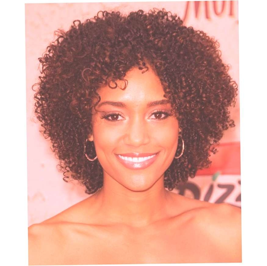 Simple Hairstyle For Natural Hairstyles For Medium Length Hair Intended For Most Popular Natural Medium Haircuts (View 14 of 15)