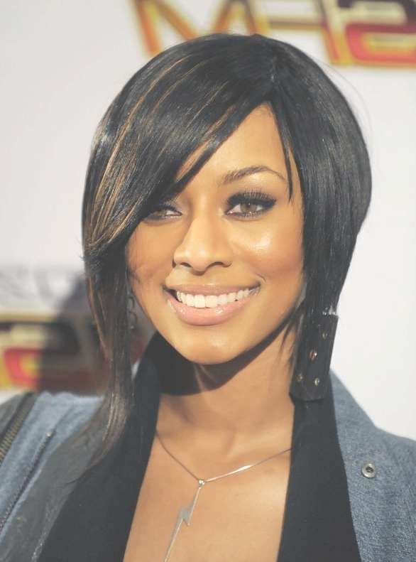 Sleek Inverted Bob Hairstyle For Black Women – Hairstyles Weekly Regarding Most Recently Layered Medium Haircuts For Black Women (View 14 of 25)