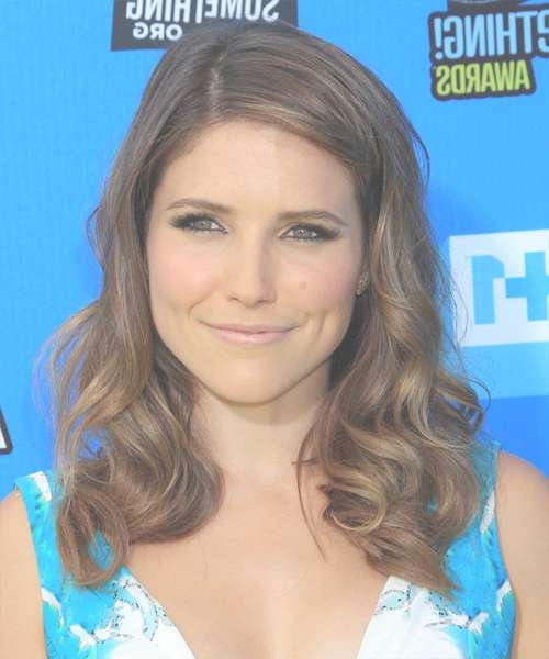 Featured Photo of Sophia Bush Medium Hairstyles