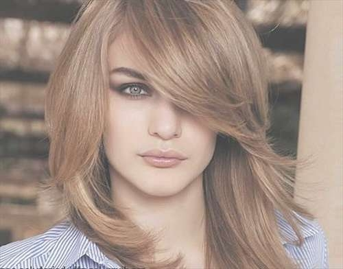 Source Cute Korean Medium Hairstyles For Round Face Hair | Medium Within Latest Round Face Medium Hairstyles (View 7 of 25)