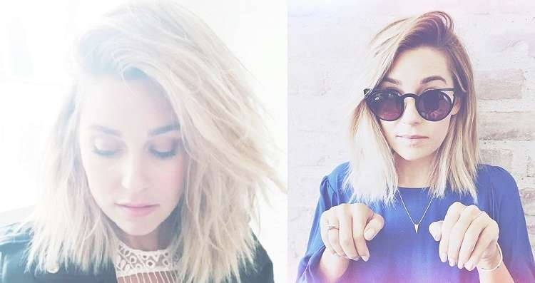 Spring Hair Trends: Cuts And Colors That Inspire | Stylelushtv Throughout Latest Lauren Conrad Medium Hairstyles (View 7 of 15)