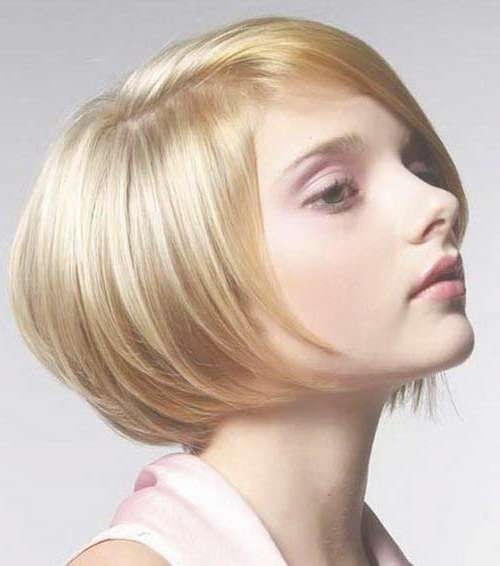 Stacked Blonde Bob Haircuts For Fine Hair – Bobs – 10 Short Intended For Bob Haircuts For Fine Hair (View 21 of 25)