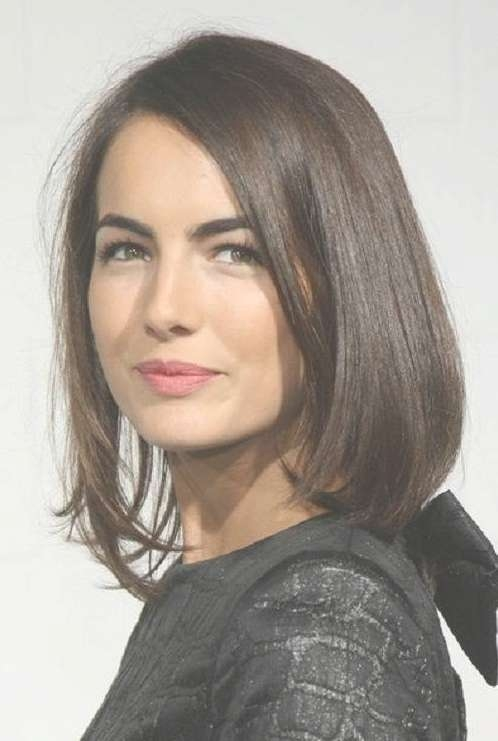 Straight Bob Hairstyles For 2014 – Popular Haircuts Within Straight Bob Hairstyles (View 10 of 25)