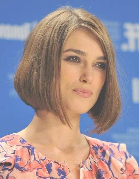 Straight, Bob Hairstyles,keira Knightley Short Haircut – Popular Throughout Keira Knightley Bob Haircuts (View 19 of 25)