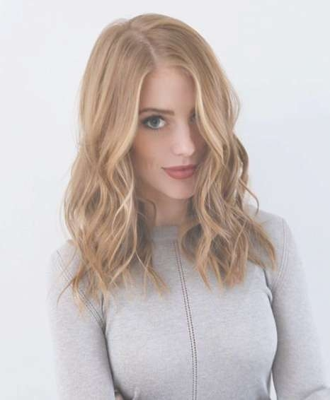 Strawberry Blonde Hair Color Ideas For Medium Hairstyle 2017 | In Most Recent Strawberry Blonde Medium Hairstyles (View 2 of 15)