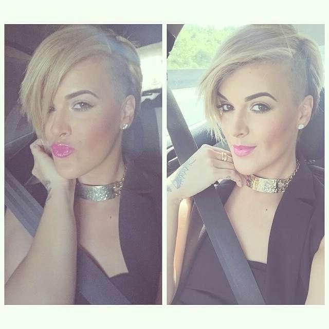 Stylish Short Bob Haircuts | Blond | Medium Hairstyles Within Recent Medium Hairstyles With Shaved Sides (View 16 of 25)