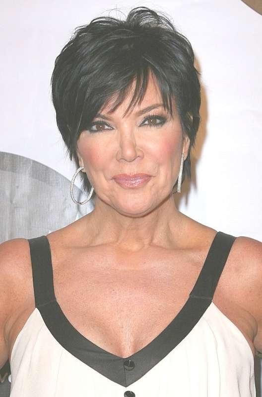 Featured Photo of Kris Jenner Medium Hairstyles
