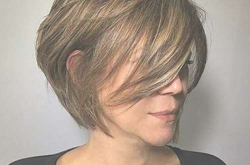 Super Short Layered Haircuts For Women 2017 – Latest Hairstyles Throughout Layered Bob Haircuts (View 24 of 25)