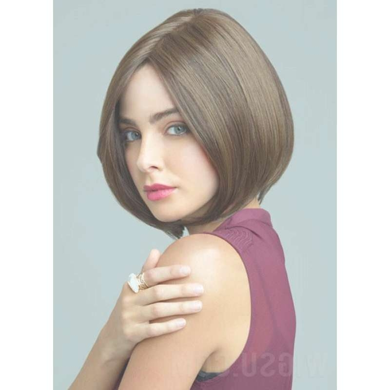 Synthetic Hair Classic A Line Bob Haircut Hand Tied Monofilament Intended For Classic Bob Hairstyles (View 25 of 25)