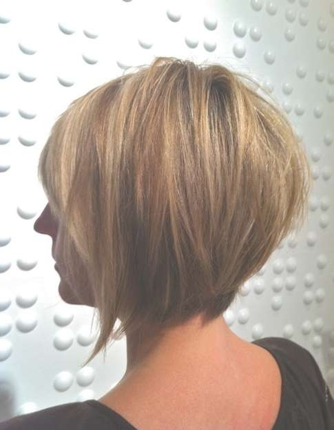 Tapered Bob Haircuts: Ombre Short Hair – Popular Haircuts For Bob Haircuts For Short Hair (View 9 of 25)