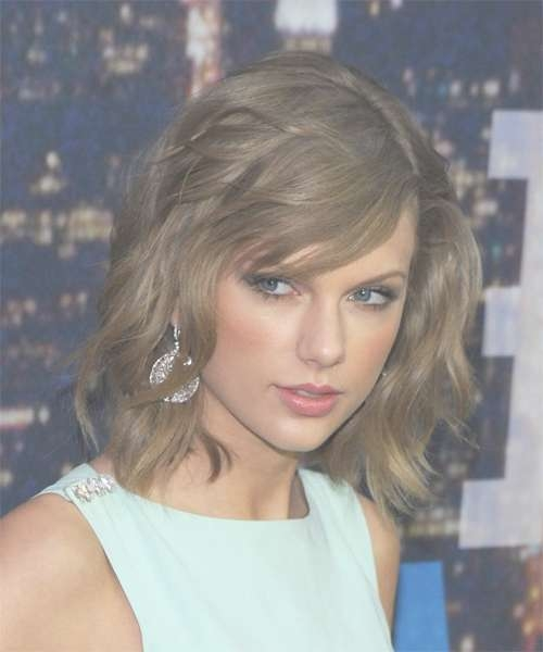Taylor Swift Hairstyles For 2018 | Celebrity Hairstyles Inside 2018 Taylor Swift Medium Hairstyles (View 21 of 25)