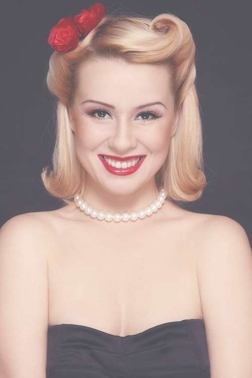 The 25+ Best 50S Hairstyles Ideas On Pinterest   Retro Diy Intended For Most Recently 1950 Medium Hairstyles (View 2 of 25)