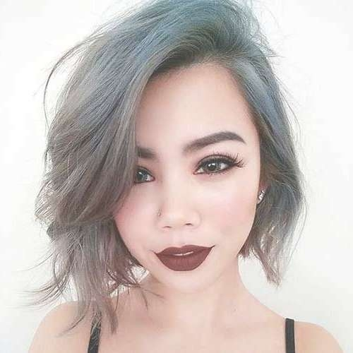 The 25+ Best Asymmetrical Bob Haircuts Ideas On Pinterest | Short For Latest Asymmetric Medium Haircuts (View 25 of 25)