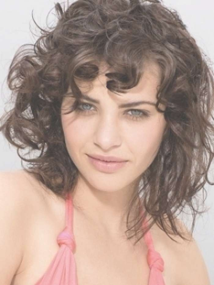 The 25+ Best Fine Curly Hairstyles Ideas On Pinterest | Hairstyles Regarding Latest Medium Hairstyles For Thin Curly Hair (View 14 of 15)