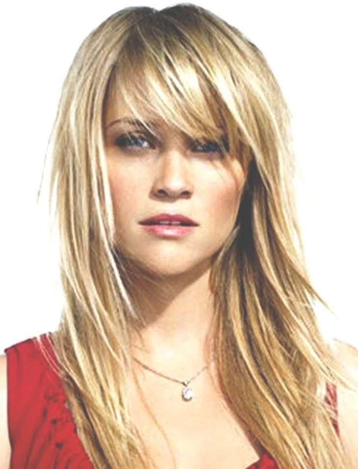 Displaying Gallery of Medium Hairstyles For Small Foreheads (View 13 ...