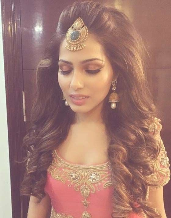 The 25+ Best Indian Wedding Hairstyles Ideas On Pinterest | Indian With Most Recent Medium Hairstyles For Indian Wedding (View 15 of 15)