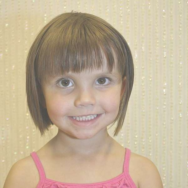 The 25+ Best Kids Bob Haircut Ideas On Pinterest | Little Girl Bob Throughout Bob Hairstyles For Girls (View 23 of 25)
