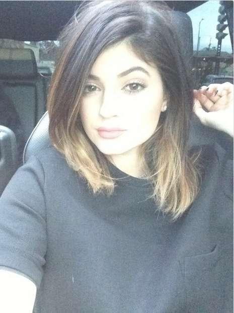 The 25+ Best Kylie Jenner Hair Medium Length Ideas On Pinterest Inside Most Popular Kylie Jenner Medium Haircuts (View 16 of 25)