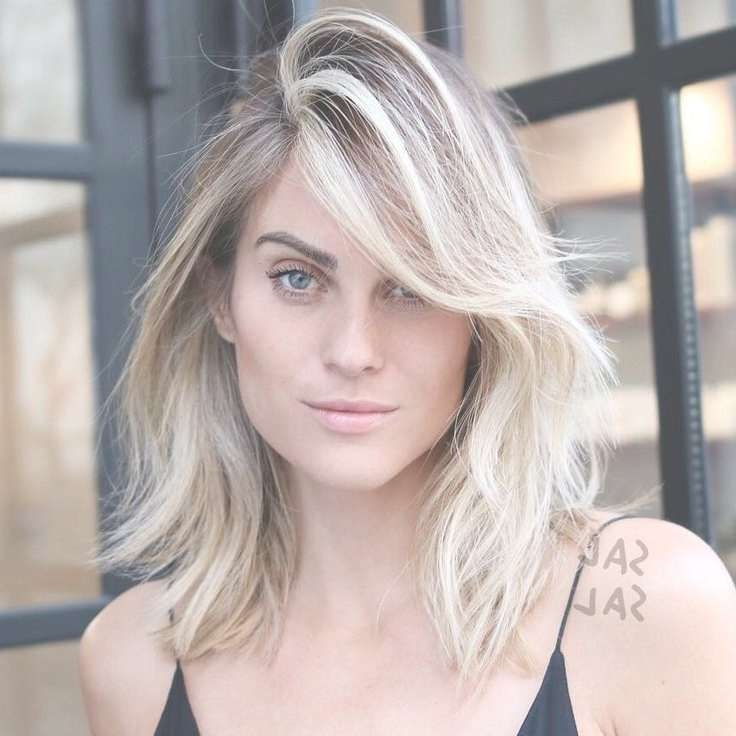 The 25+ Best Layered Side Bangs Ideas On Pinterest | Side Bang Regarding Most Current Medium Hairstyles With Side Bangs And Layers (View 17 of 25)