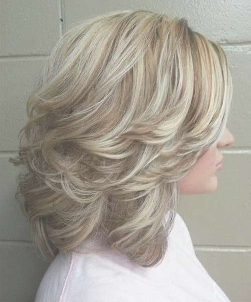The 25+ Best Medium Layered Haircuts Ideas On Pinterest | Medium Pertaining To 2018 Medium Haircuts Layers (View 10 of 25)