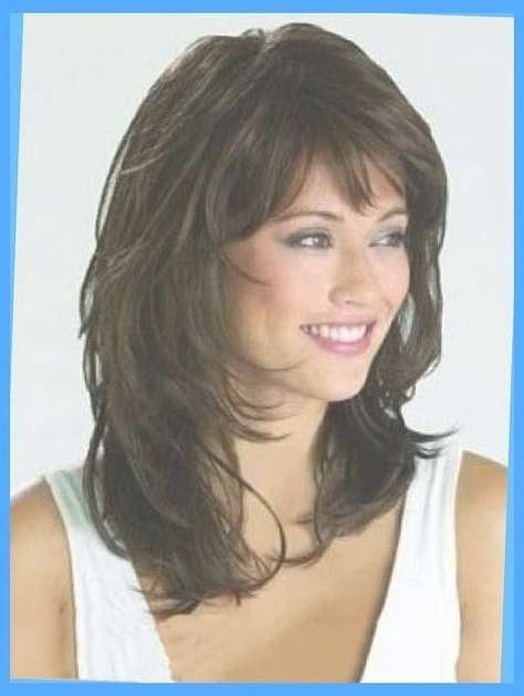 The 25+ Best Medium Shag Haircuts Ideas On Pinterest | Medium Shag With Newest Layered Shaggy Medium Hairstyles (View 19 of 25)