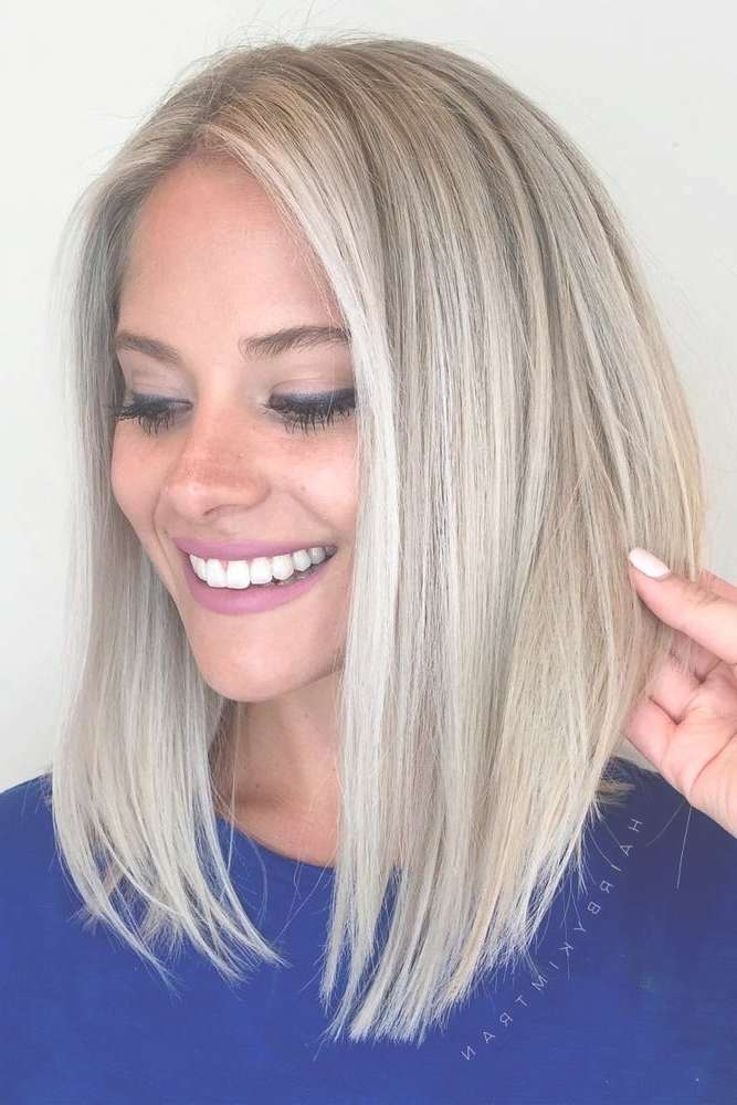 The 25+ Best Medium Short Haircuts Ideas On Pinterest | Shirt Bob With Medium To Short Bob Haircuts (View 22 of 25)