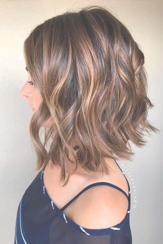 The 25+ Best Mid Length Hair Ideas On Pinterest | Medium Hair Cuts Intended For Current One Side Medium Haircuts (View 19 of 25)