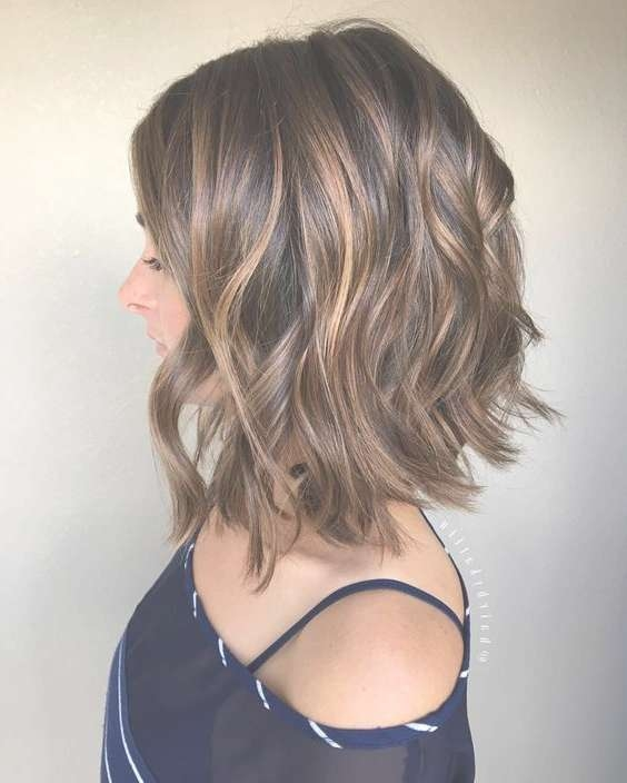 The 25+ Best Shoulder Length Haircuts Ideas On Pinterest Pertaining To Recent Medium Hairstyles For Very Thick Hair (View 16 of 16)