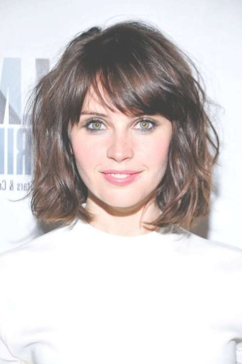 Featured Photo of Medium Haircuts For Small Foreheads