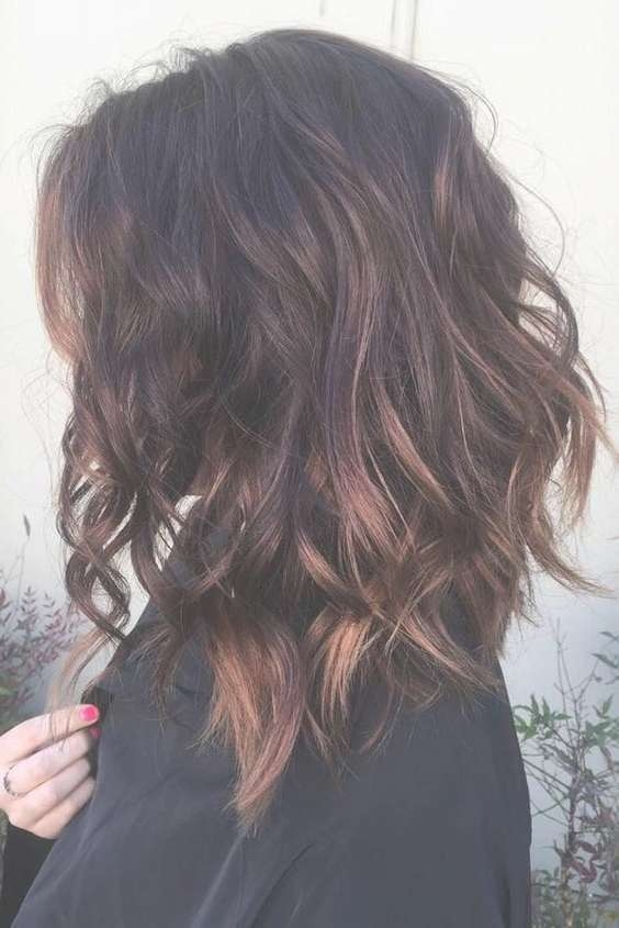 The 25+ Best Thick Wavy Haircuts Ideas On Pinterest | Short Thick Within Recent Fall Medium Hairstyles (View 13 of 25)