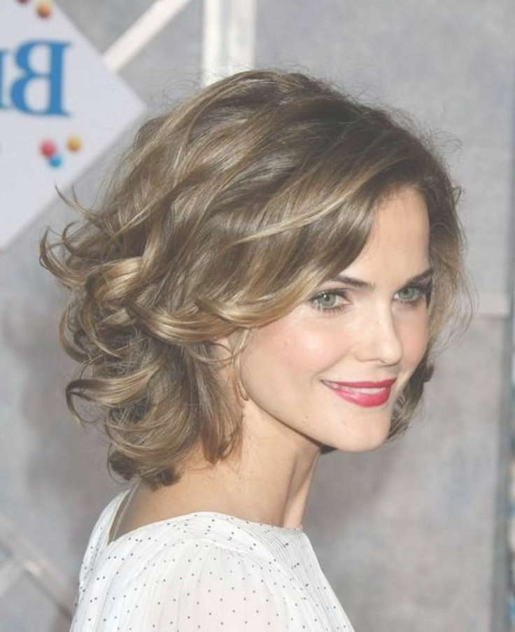 The 25+ Best Thin Wavy Hair Ideas On Pinterest | Haircuts For Thin With Regard To Most Recent Medium Hairstyles For Thin Curly Hair (View 13 of 15)
