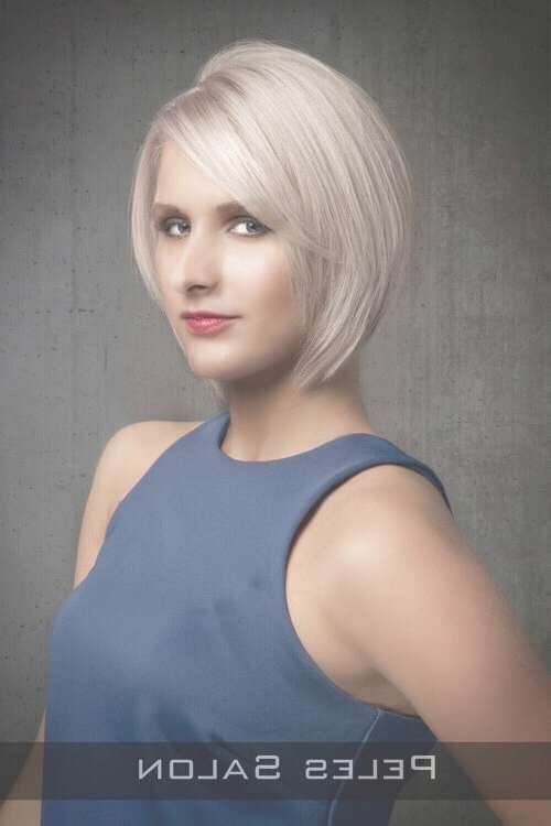 The 26 Most Flattering Bob Hairstyles For Round Faces Within Recent Flattering Medium Haircuts For Fat Faces (View 17 of 25)