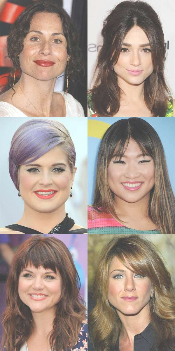 The Best (And Worst) Bangs For Pear Shaped Faces – Beautyeditor Pertaining To Most Recent Medium Hairstyles For Pear Shaped Faces (View 14 of 15)