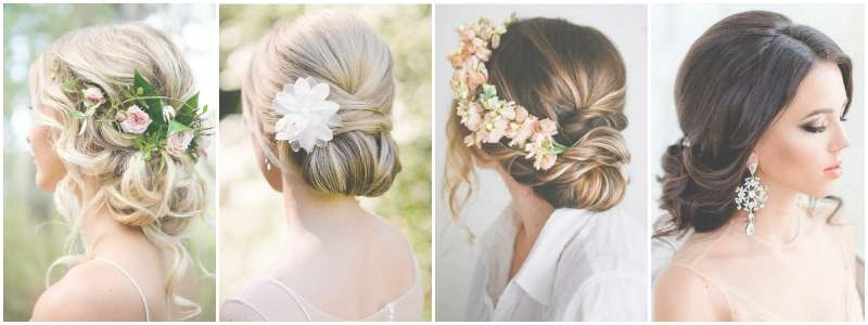 The Best Wedding Hairstyles That Will Leave A Lasting Impression Inside Most Up To Date Bridal Medium Hairstyles (View 17 of 25)