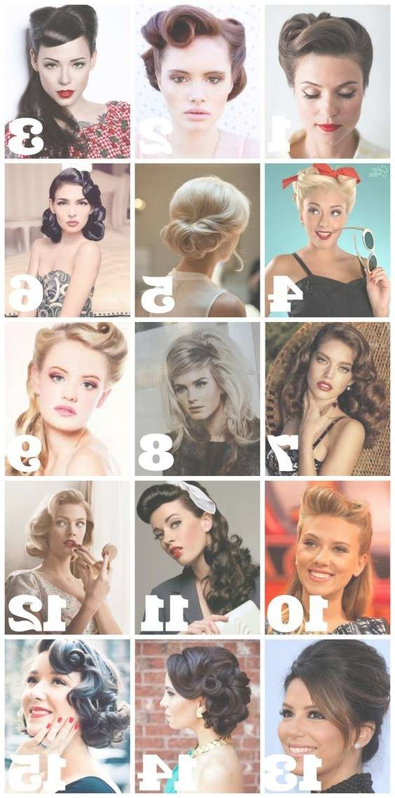 The Gorgeous 1930's Hairstyles | Best Medium Hairstyle | Pretty Pertaining To Recent 1950S Medium Hairstyles (View 25 of 25)
