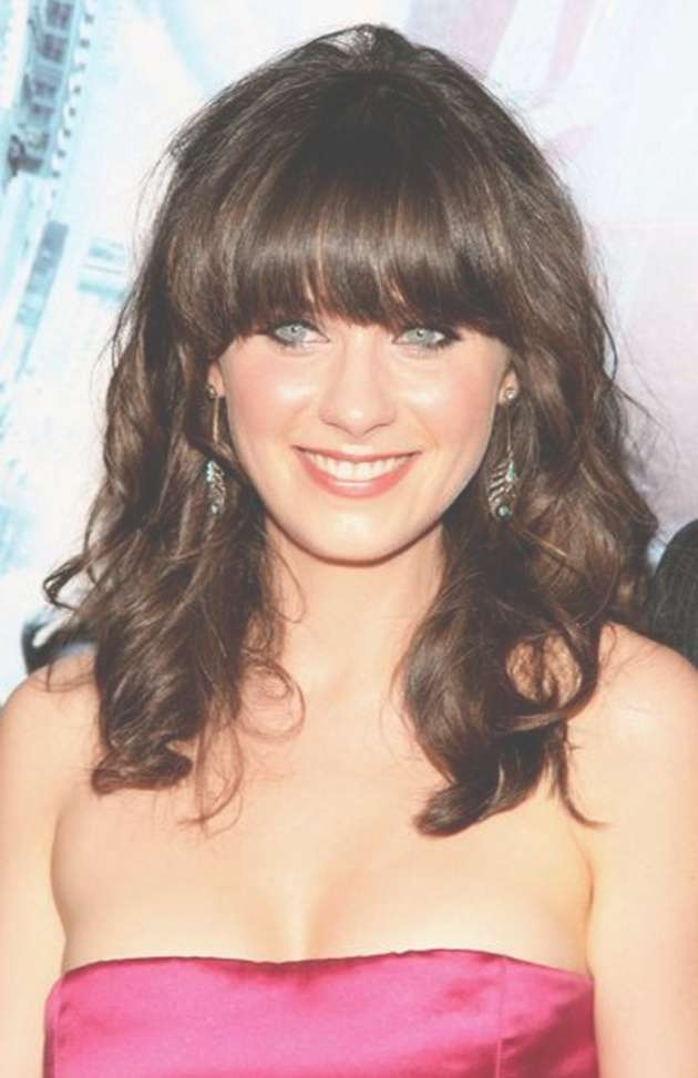The Hairstyles Of Medium Length Hairstyles For Women Over 40 Throughout Newest Medium Hairstyles For Women With Bangs (View 11 of 25)
