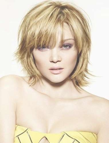 The Most Amazing Best Short Haircuts For Heart Shaped Faces With In Most Popular Heart Shaped Face Medium Hairstyles (View 15 of 25)