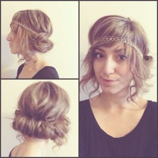 The Most Elegant 1920S Updo Long Hair For Haircut | Hairstyles Throughout Recent Flapper Girl Medium Hairstyles (View 24 of 25)