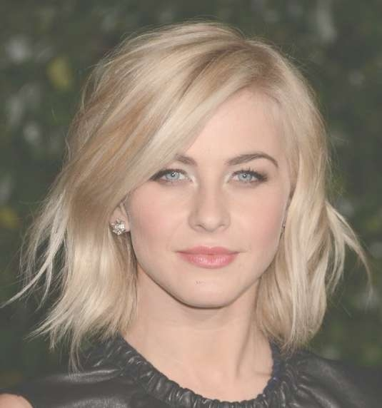 The Perfect Hairstyle For Busy Moms: Julianne Hough's Low Regarding Latest Julianne Hough Medium Haircuts (View 11 of 25)