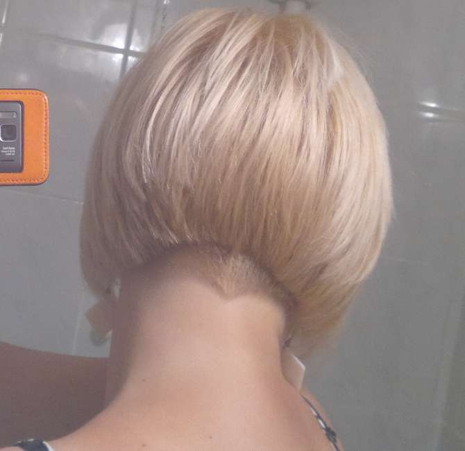The Pixie Revolution: Angled Bob Pics Aug 19Th With Bob Haircuts Shaved In Back (View 24 of 25)