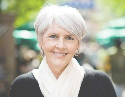 The Silver Fox: Stunning Gray Hair Styles | Bellatory For Recent Medium Haircuts For Coarse Gray Hair (View 12 of 25)